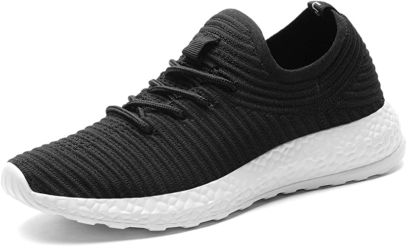 I Dont Believe In Humans Fashion Fly Knit Shoes Boy Casual Sports Sneakers