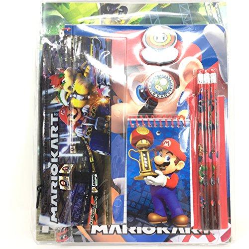 Super Mario 11pcs Stationery Set in Bag -