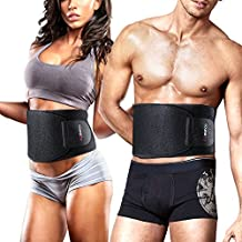 Youngdo Waist Trimmer Adjustable Slimming Belt Belly Fat Burner for Men and Women for Gym Training and Abdominal Weight Loss