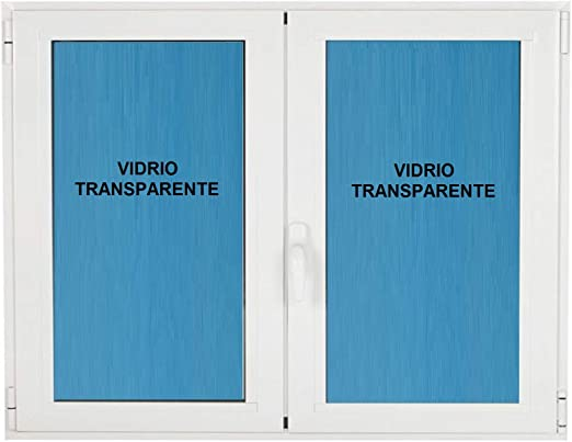Ventana pvc 1200x1000 Practicable Oscilobatiente 2 hojas: Amazon.es: Bricolaje y herramientas