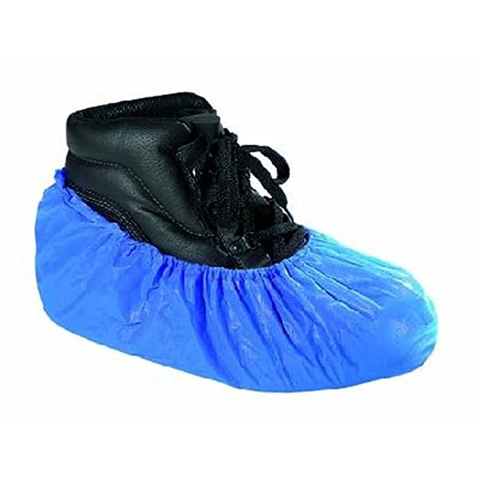 RMB Einweg Arbeits Schuh Überzug blau 100 Stück im Paket extra stark