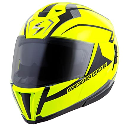 Scorpion EXO-900X TransFormerHelmet 3-In-1 Street Motorcycle Helmet (Neon,