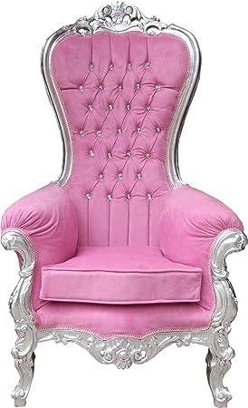 Casa-Padrino Baroque - Sillón Trono para Mujer, majestuoso ...