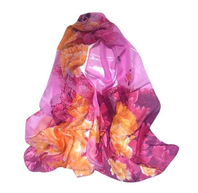 iHPH7 Lightweight Scarves, Chinese Style Lady Long Wrap Shawl Chiffon Scarf at Amazon Womens Clothing store: