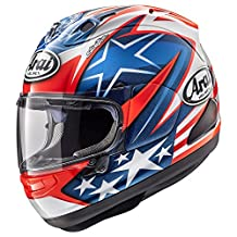 Arai Cosair-X Nicky-7 Adult Street Motorcycle Helmet - Blue/X-Large