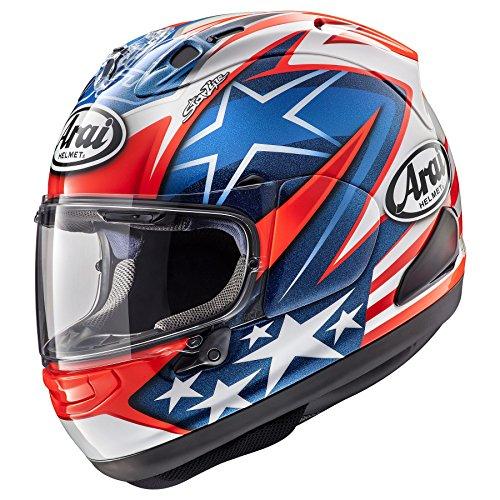 Arai Cosair-X Nicky-7 Adult Street Motorcycle Helmet - Blue /Large