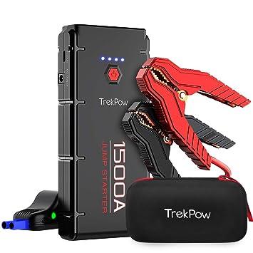 Trekpow Jump Starter Pack 1500a Peak G22 Car Battery Booster Pro