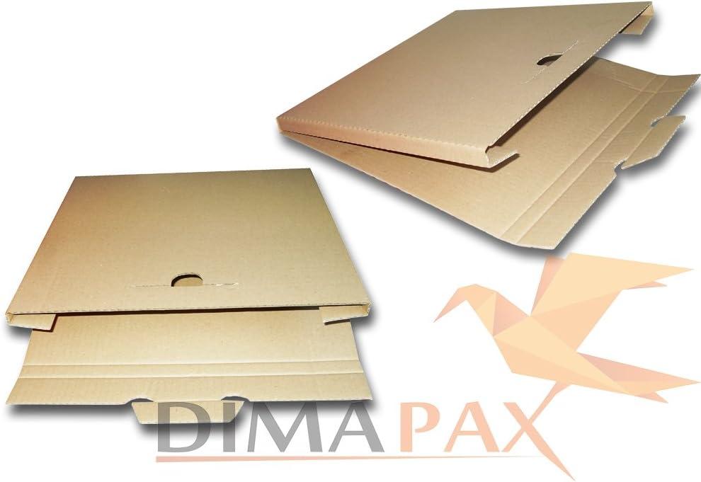 50/LP Spedizione Scatole 325/X 325/X 13/mm per 1/ /3/vinile disco 12/inch dimapax