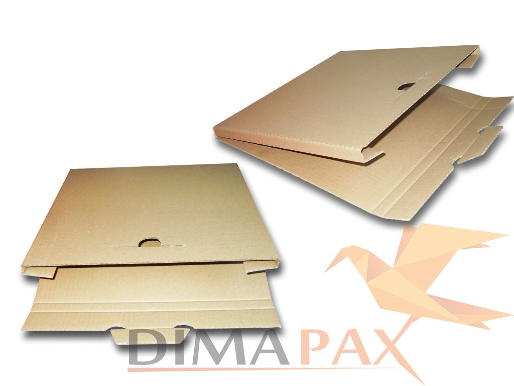 '100LP Spedizione Scatole 325X 325X 13mm per 1–3vinile dischi 12inch dimapax