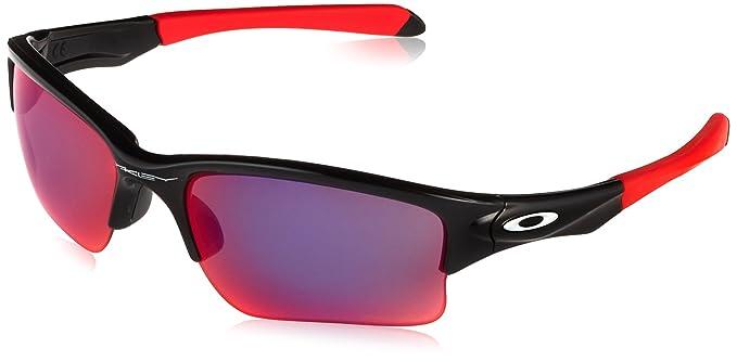 387d8358c6 Oakley Men s Quarter Jacket Non-Polarized Iridium Rectangular Sunglasses  POLISHED BLACK 61 mm