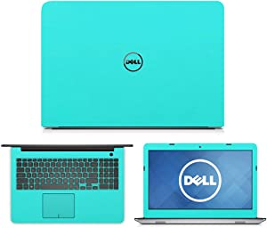 """Mint Green skin decal wrap skin Case for Dell Inspiron 15 5555 5558 5559 15.6"""" Laptop"""