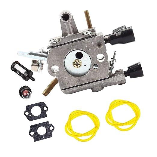 Tubayia Carburetor - Carburador para cortacésped Stihl FS120 ...