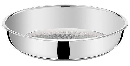Tefal Ingenio Pro acero inoxidable sartén inducción, acero inoxidable, 26 cm