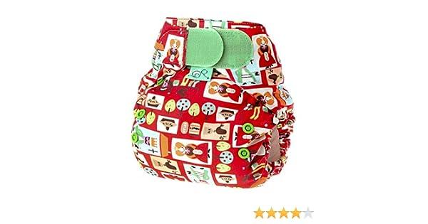 Tots Bots Easy Fit Sixpence - Cobertor de pañal elástico (talla de 3,5 a 16 kg), diseño: Amazon.es: Salud y cuidado personal