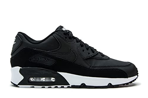 cb5147e5a91 NIKE Youth Air Max 90 Leather Trainers