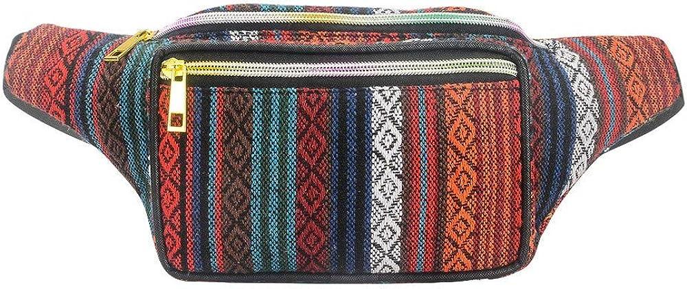 Bolso de Cintura para Mujeres Bohemia Bolso de Cintura para ...