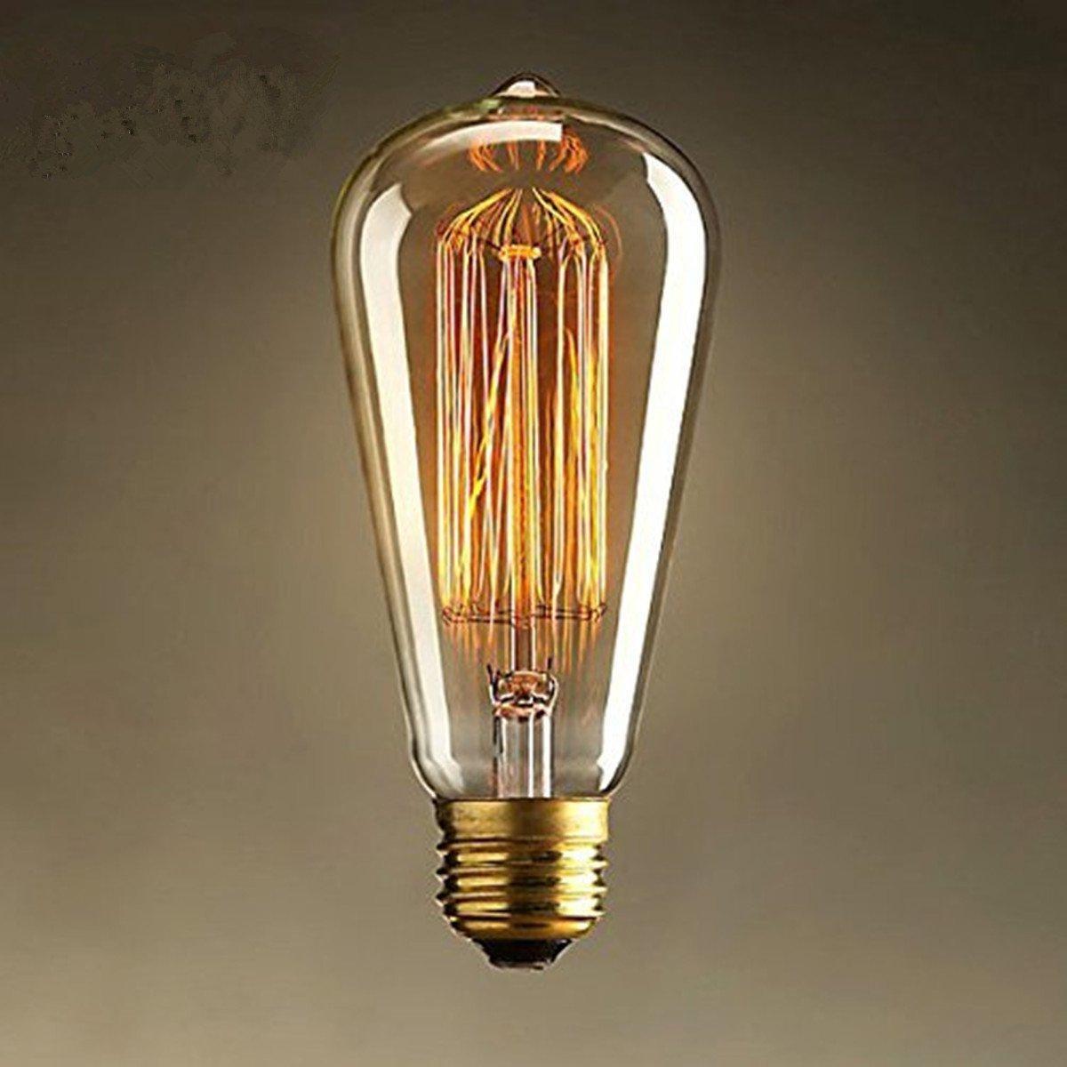 Hanger Vintage Light Retro Old Fashioned Edison Style Screw19
