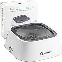 LumoLeaf Dog Water Bowl, Dog Bowl No-Spill Pet Water Bowl, Slow Water Feeder Dog Bowl, Vehicle Carried Dog Water Bowl…