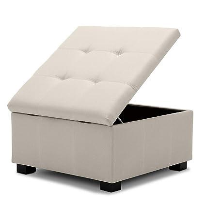 Fantastic Amazon Com White Linen Elegant Design Tufted Square Modern Uwap Interior Chair Design Uwaporg