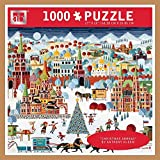 (US) Andrews + Blaine 1,000 Pc Puzzle Christmas Abroad