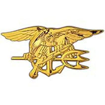 Amazon Us Navy Seal Trident Pin Gold Plated Toys Games
