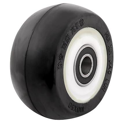 Sourcingmap - 4 rueda de goma
