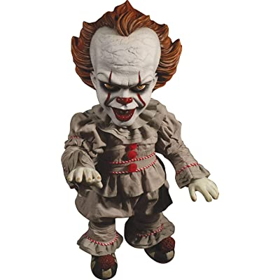 MEZCO DESIGNER SERIES IT (2020): Mega Scale Talking Pennywise: Toys & Games