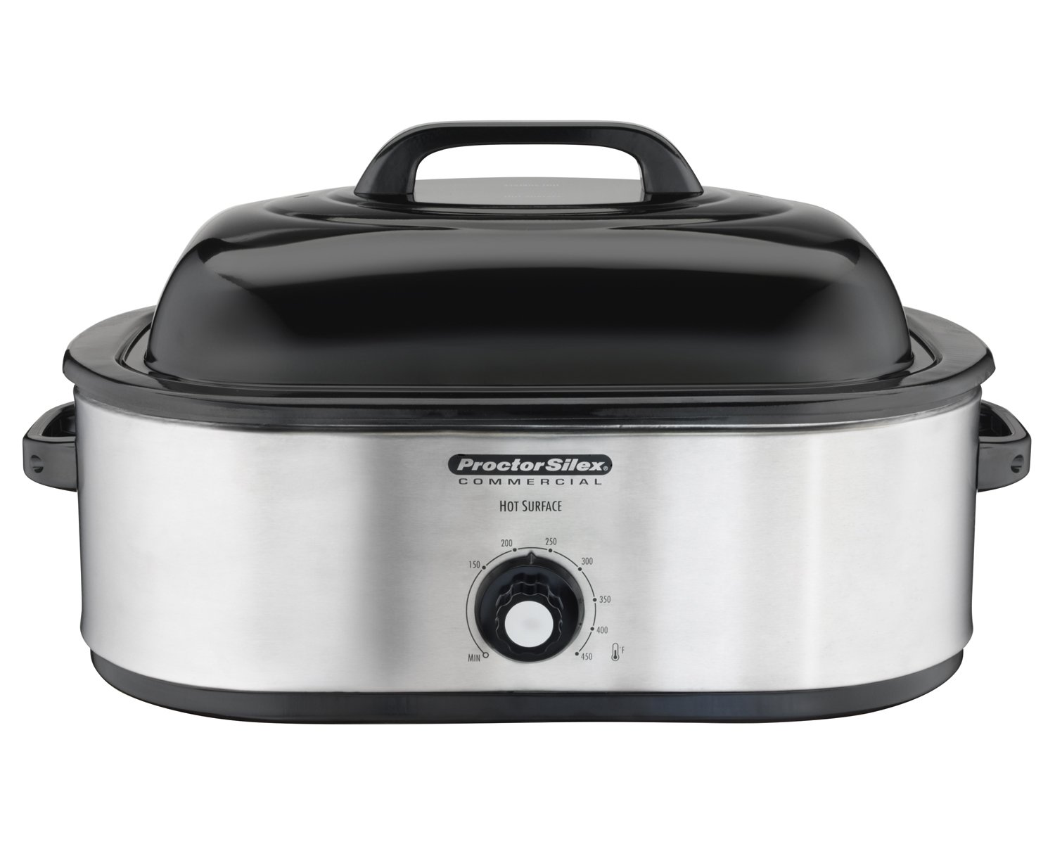 Proctor Silex Commercial 18 Quart Roaster Oven, Food Warmer, Stainless Steel (32920)