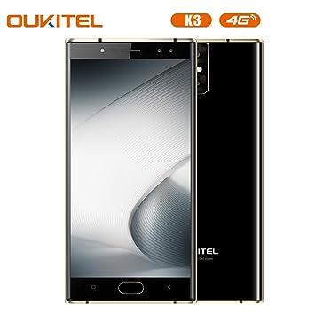 oukitel K3 Smartphone 4 G 5.5 Pulgadas FHD Android 7.0 - Funda ...