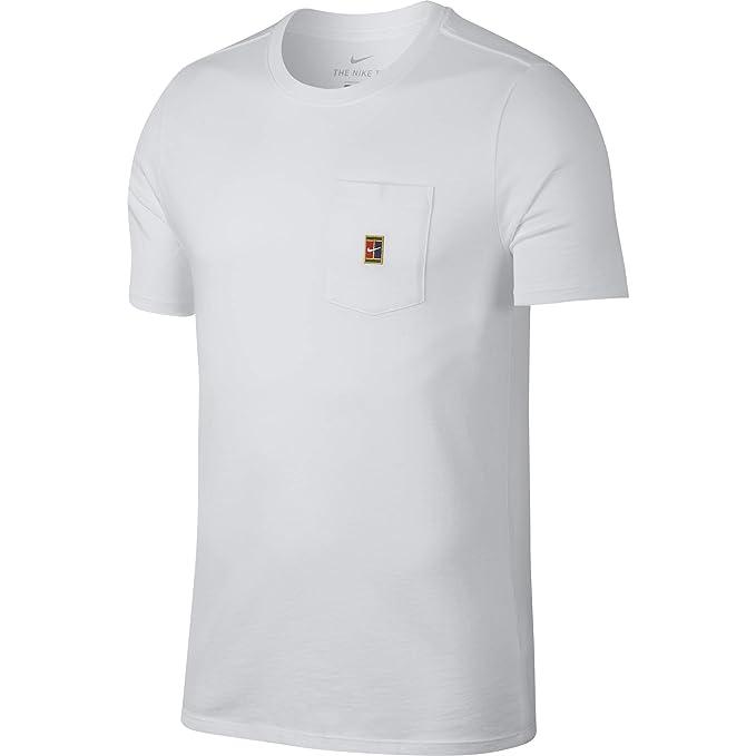 fotos nuevas nuevo estilo de 2019 100% genuino Nike M Nkct tee Heritage Pocket Camiseta de Tenis, Hombre ...