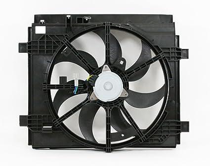 Dual radiador y condensador Ventilador de refrigeración ...