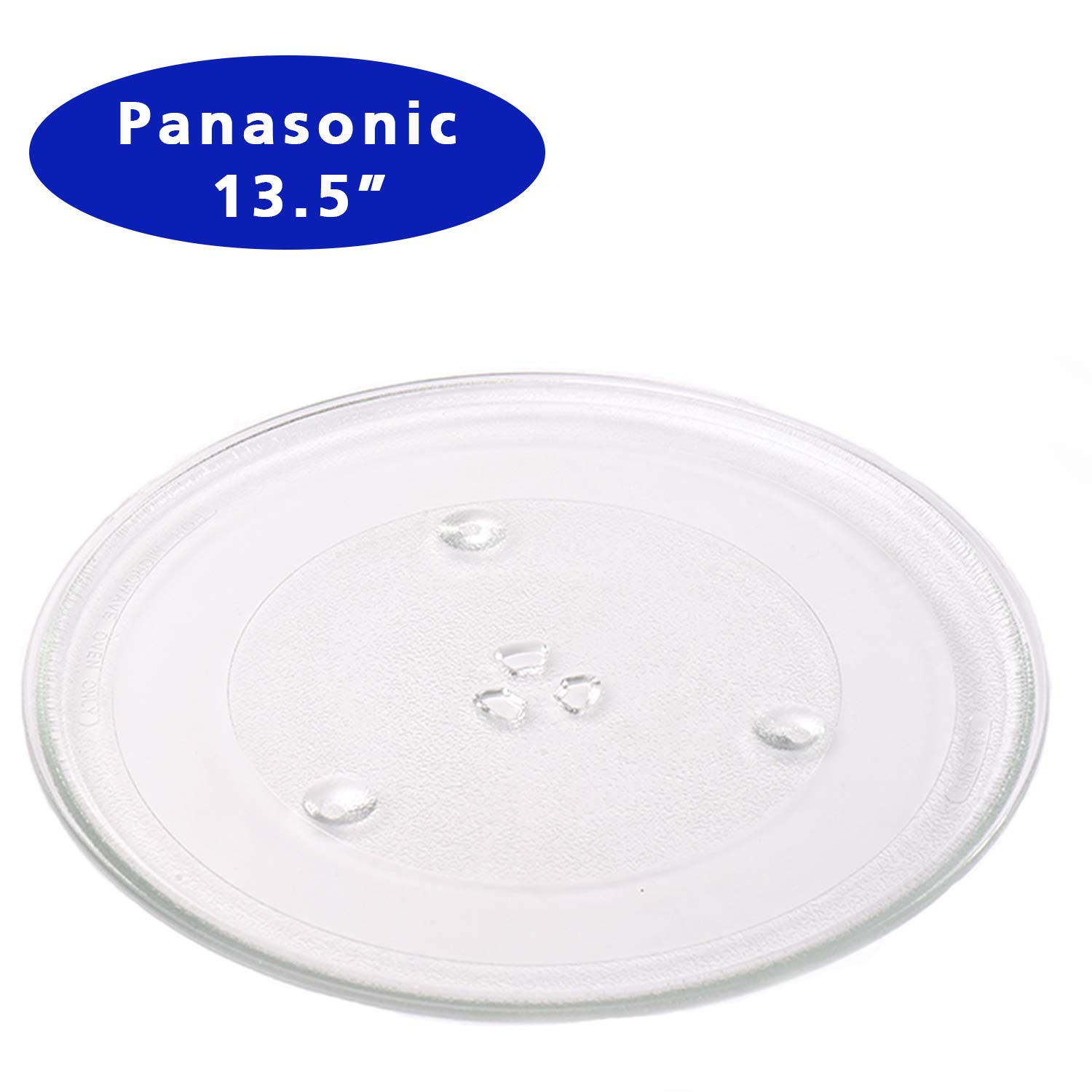 WB49X10002 Microwave Glass Turntable Tray G.E 13.5-inch