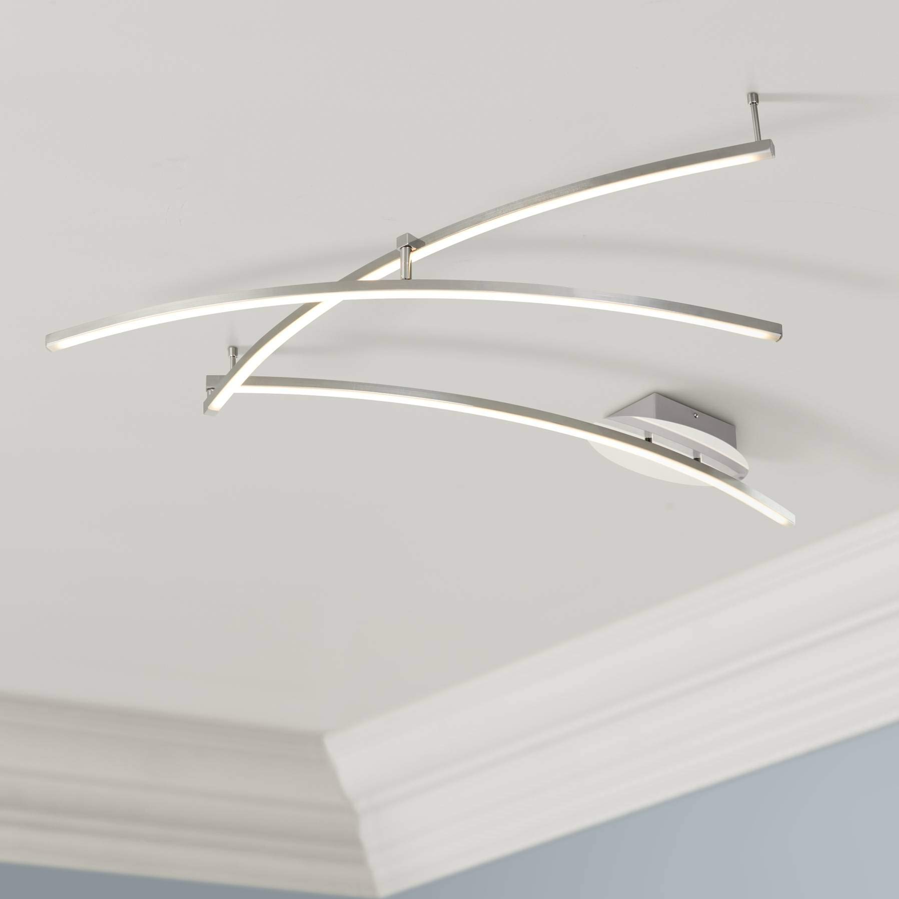 Wilfax Chrome 3-Arm LED Track Fixture by Pro Track - Pro Track