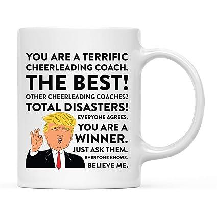 Amazoncom Tanghome 11oz Funny President Trump Coffee Mug