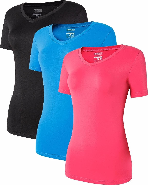 jeansian Damen 20 Packs Sport Slim Quick Dry Breathable Short ...