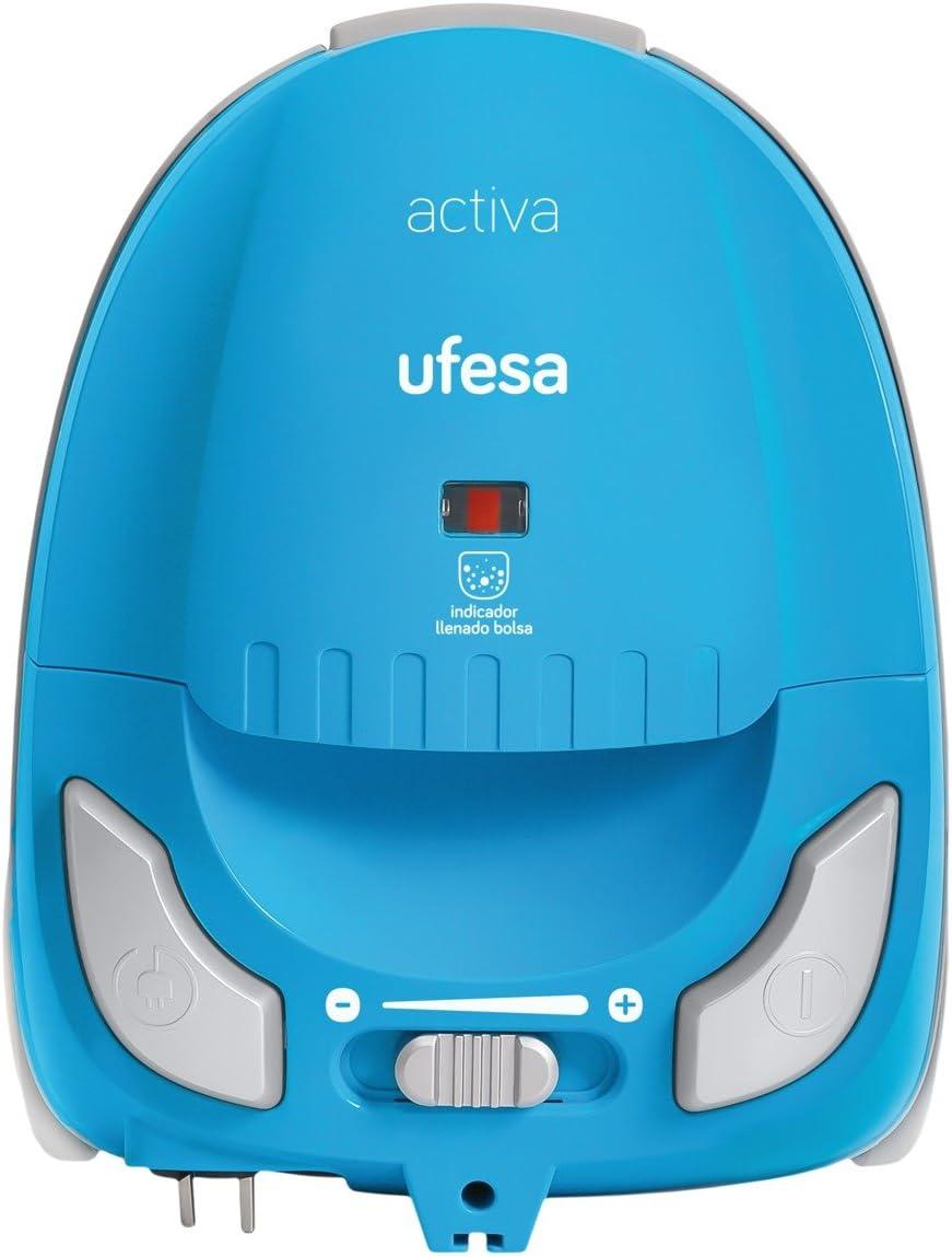 Ufesa Activa - Aspiradora con bolsa, eficiencia energética A, radio de acción de 8 m: Amazon.es: Hogar