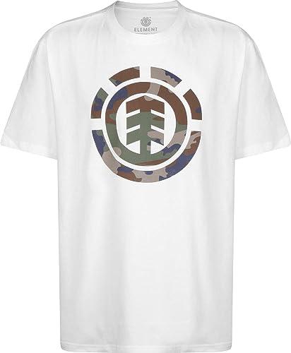 Element Foundation Icon Camiseta Optic White: Amazon.es: Ropa y accesorios