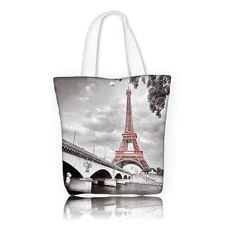 585c7bd4f6aa7 Amazon.com  Reusable Cotton Canvas bag -W22 x H15.7 x D7 INCH ...