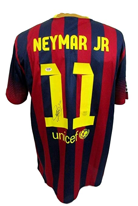 19ea555b938 Image Unavailable. Image not available for. Color  Neymar Jr. FC Barcelona  Signed Autographed NIKE Jersey w LOA PSA DNA