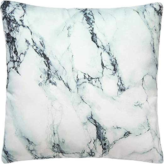 Special 6 X  Metallic CREAM marble   Crushed Velvet 18in Cushion Covers nextday