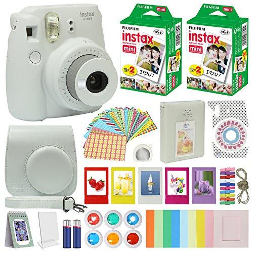 cheap Fujifilm Instax Mini 9 Instant Camera Smokey White with ...
