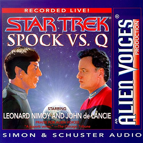 Spock Vs Q Audiobook [Free Download by Trial] thumbnail