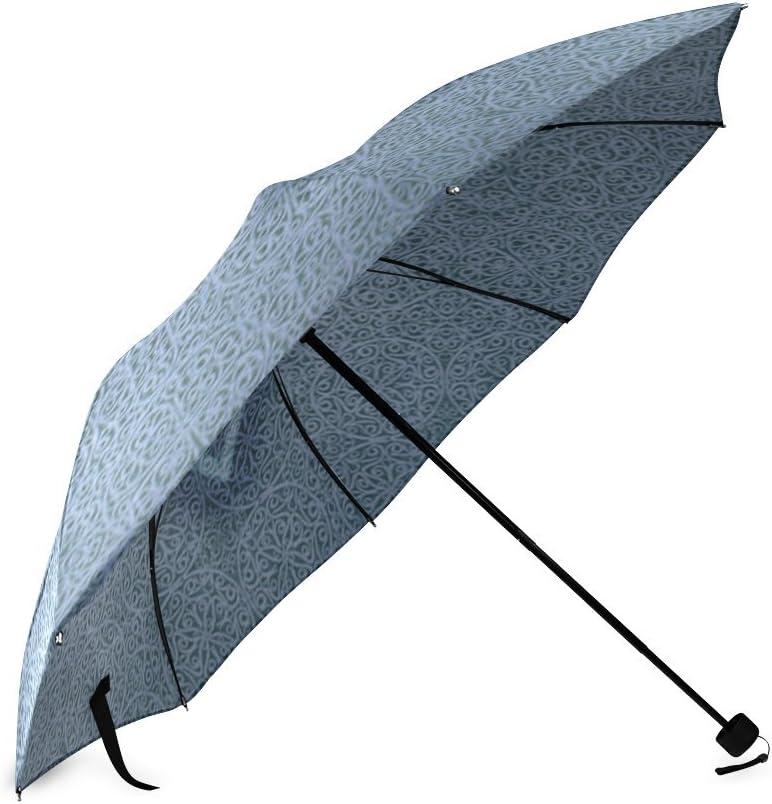 Custom JESUS FISH Compact Travel Windproof Rainproof Foldable Umbrella