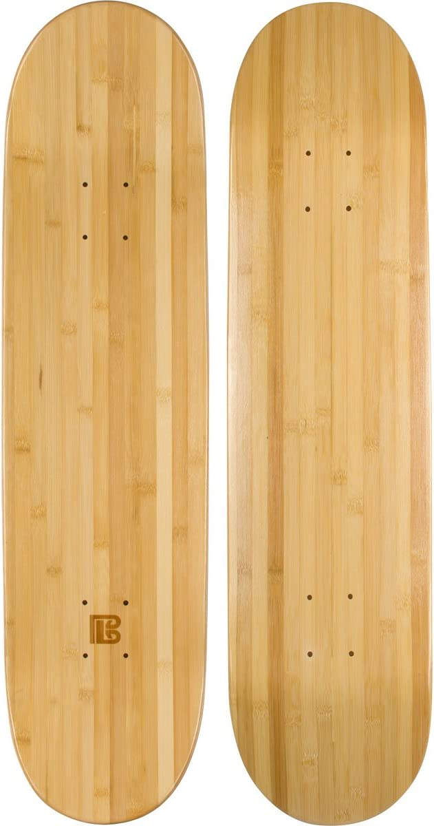 best skateboard decks: Bamboo Skateboards Blank Skateboard Deck