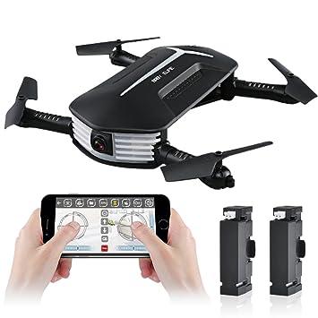 kingtoys Mini Drone, JJR / C H37 Baby Elfie WiFi FPV Drone RC ...