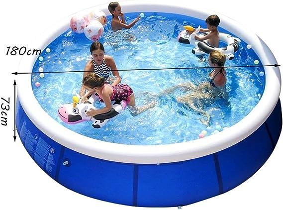 TYUIO Bañera inflable de la piscina para bebés, piscina grande ...