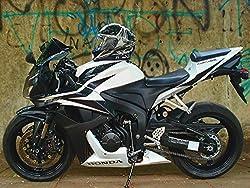 Motorcycle Poster Motorcycle Print Honda Motorcycle Biker Gifts 18x24