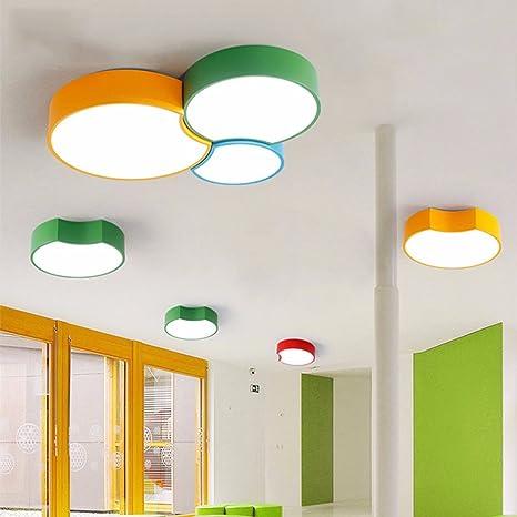 xqk moderna lámpara de techo Creatividad la Araña Niños ...