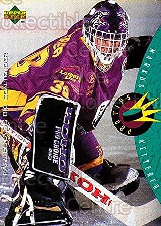 Amazon.com: (CI) Markus Ketterer Hockey Card 1995-96 Swedish ...