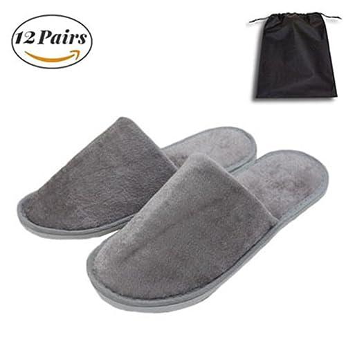 de Zapatillas Unisex Blancas, esponjosas, de Punta Cerrada, cómodas y Antideslizantes, Uso doméstico, hotelero o Comercial: Amazon.es: Zapatos y ...